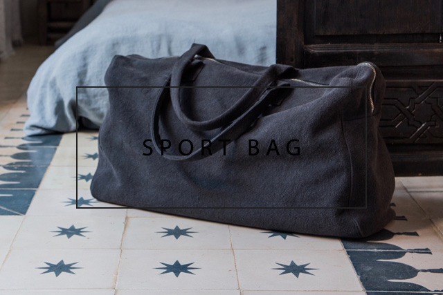 luxurious italian sport bag