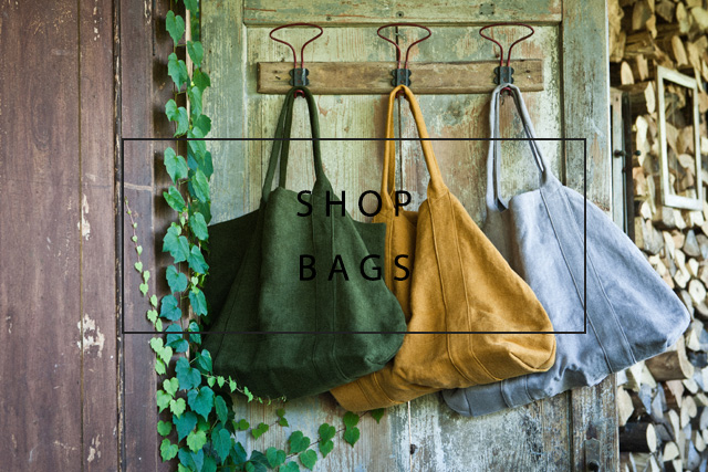 shop luxurious linen or velvet bags