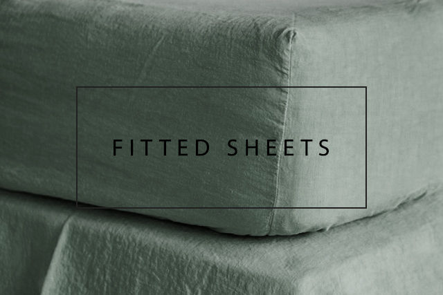 luxurious linen fitted sheets