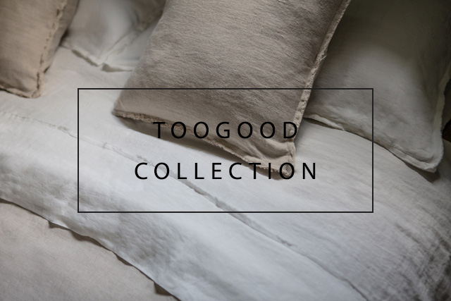 luxurious linens in collaboration with toogood