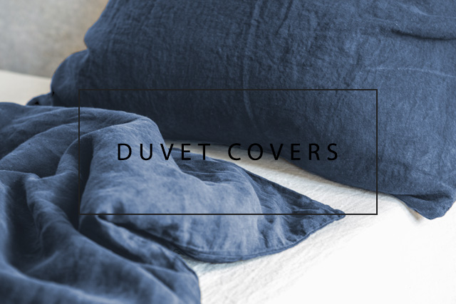 luxurious linen duvet covers