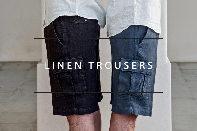 linen trousers for men