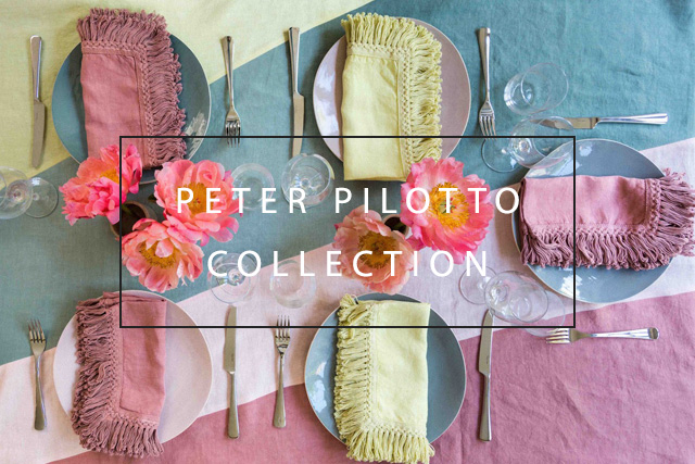 Peter Pilotto linen collection