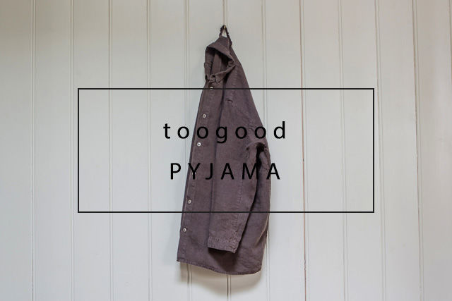 luxurious linen pyjama toogood