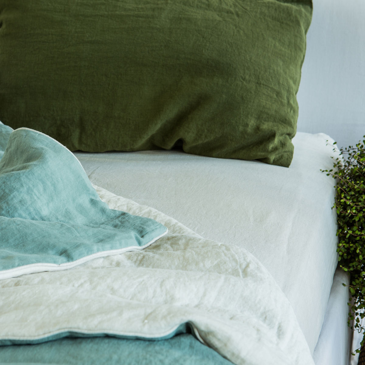 Linen Fitted Sheets - product images  of
