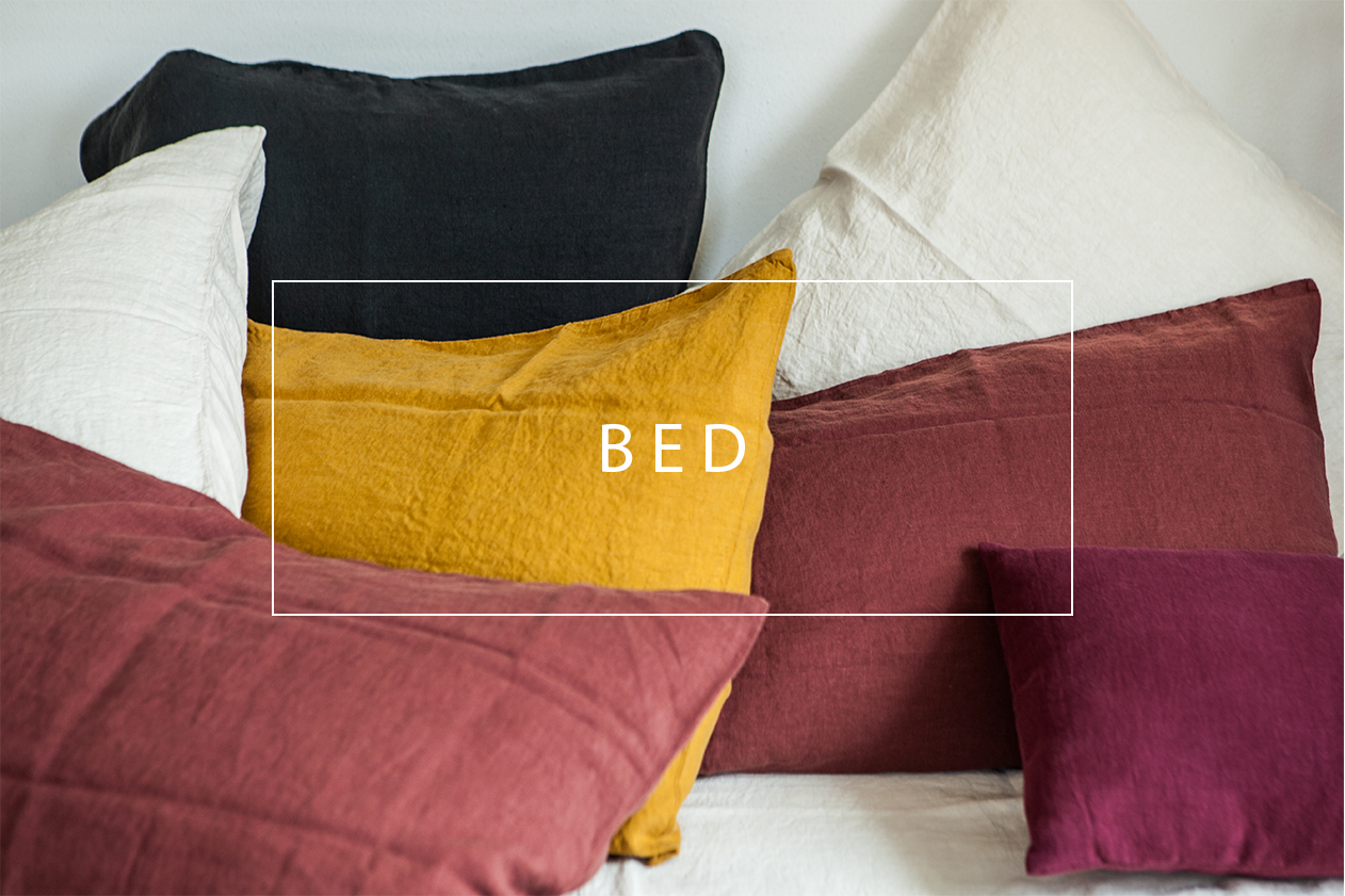 shop our linen bed products for black friday