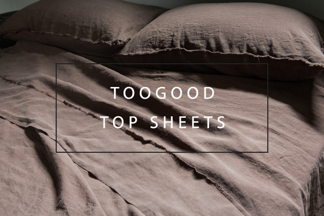 Luxury linen top sheet