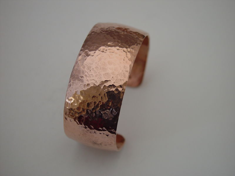 Hand-Hammered Copper Bracelet - product images  of