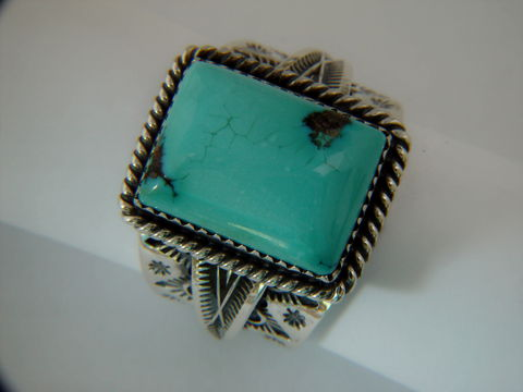 Natural,Nevada,Turquoise,Set,in,Sterling,Silver,Spiderweb, Spider Web Turquoise, Sterling Silver, Hand Made, Navajo, Arizona