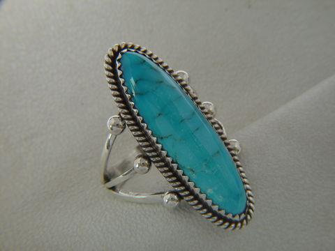 Kingman,Turquoise,Set,in,Sterling,Silver,Spiderweb, Spider Web Turquoise, Sterling Silver, Hand Made, Navajo, Arizona