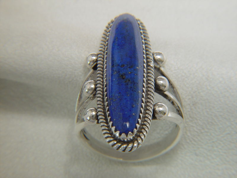 Lapis Lazuli Set in Sterling Silver - product images  of