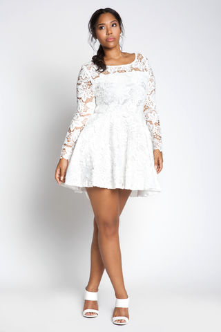 ROMANS,8:28,dress, lace, plussize