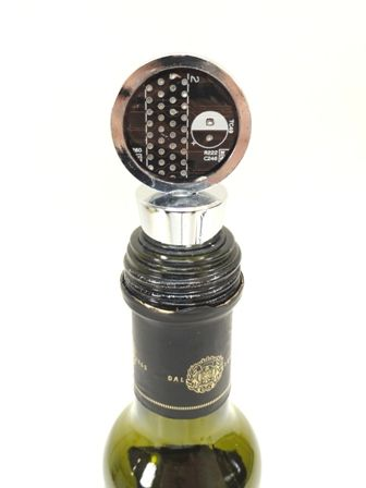 Custom Recycled Motherboard Wine/Bottle Stopper - product images  of