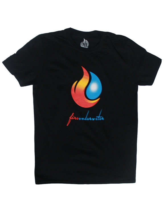 Men's Fireunderwater Basic Tee (black) - product images  of