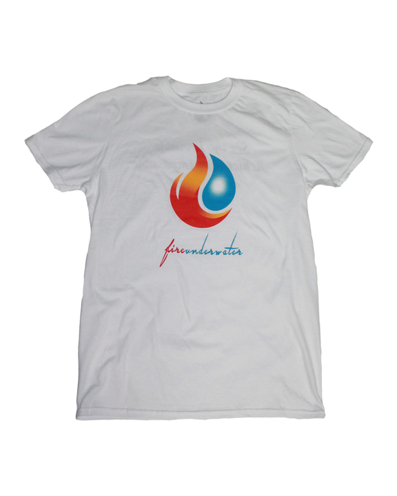 Men's Fireunderwater Basic Tee (white) - product images  of