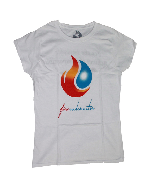 Woman's Fireunderwater Basic Tee  - product images  of
