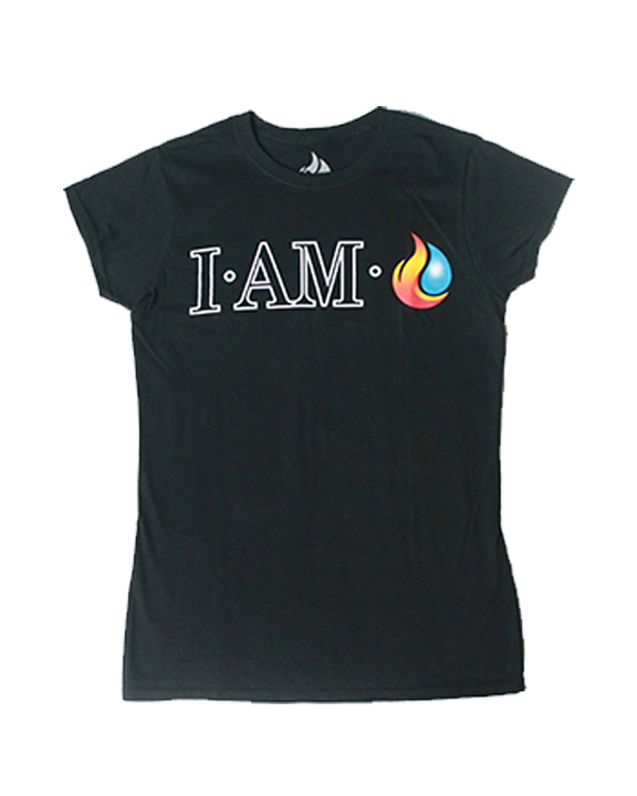 Woman's I AM Fireunderwater Tee - product images  of