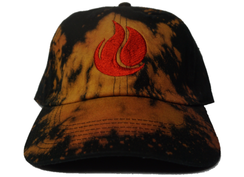 Fireunderwater,Bleached,Strapback,(multiple,colors),hats, red