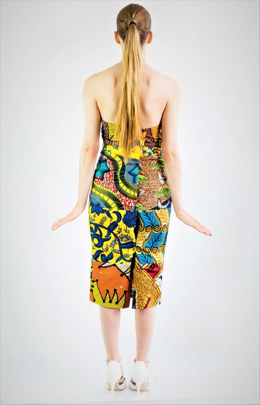 NYC Fitted Midi Dress - product images  of