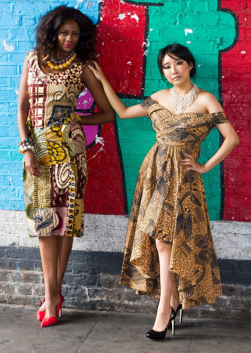 Kylie Bardot African Ankara Dress - product images  of