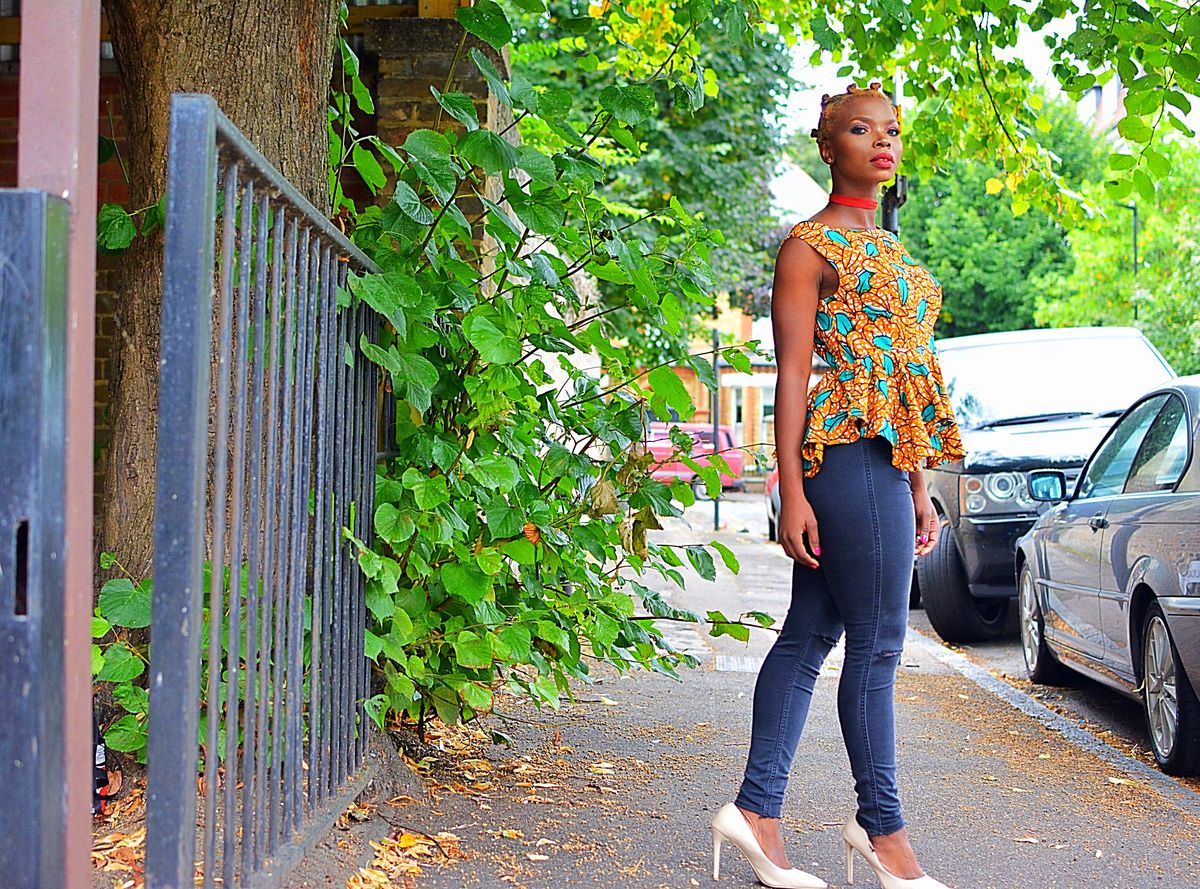 Katie African Ankara Top - product images  of