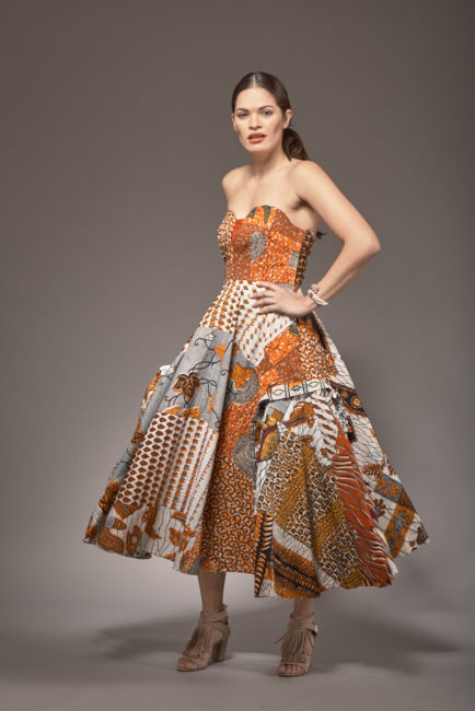 Mia African Ankara Gown - product image