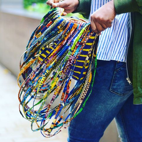 Rope,African,Ankara,bag,accessories,African fabric, necklace, fringe bag, ankara bag, african bag, boho bag, bag, bags, african, ankara, accessories, Ankara necklace, African accessories, African necklace, african tassel