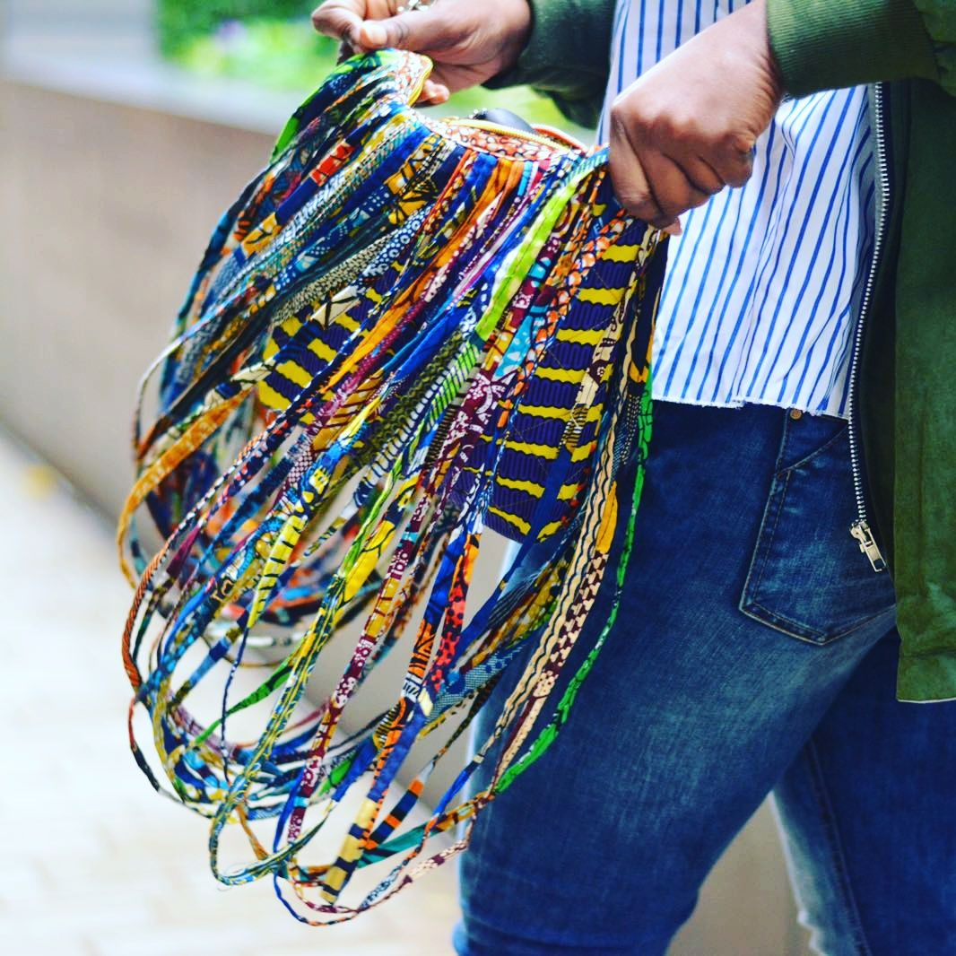 Rope African Ankara bag accessories - product image