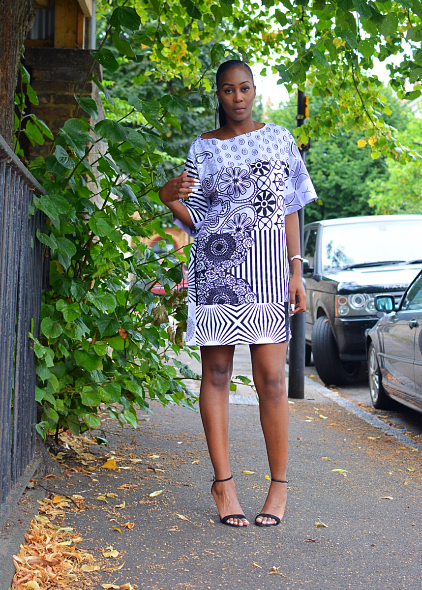 9487646be38 ... Carla white mix African Ankara Tunic Dress - product images of ...