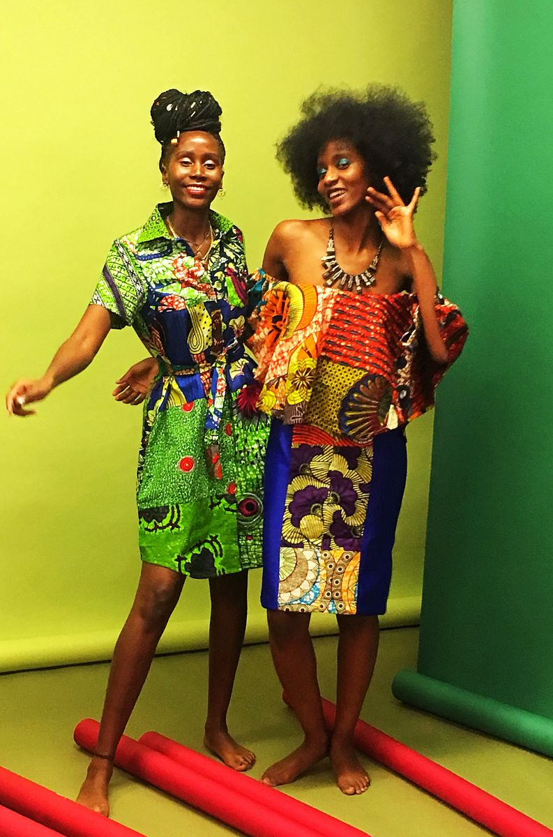 African Ankara Shirt Dress - product images  of