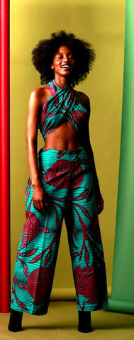African,Blue,purple,multi,Tie,up,wide,leg,Jumpsuit, purple jumpsuits, purple african jumpsuits, Blue jumpsuit, clothing, blue African jumpsuit, turquoise jumpsuit, Multi tie jumpsuit, Wide leg jumpsuit, Ankara jumpsuits, African jumpsuits, Jumpsuit, Green, Romper, Play suit, Bandeau, green j