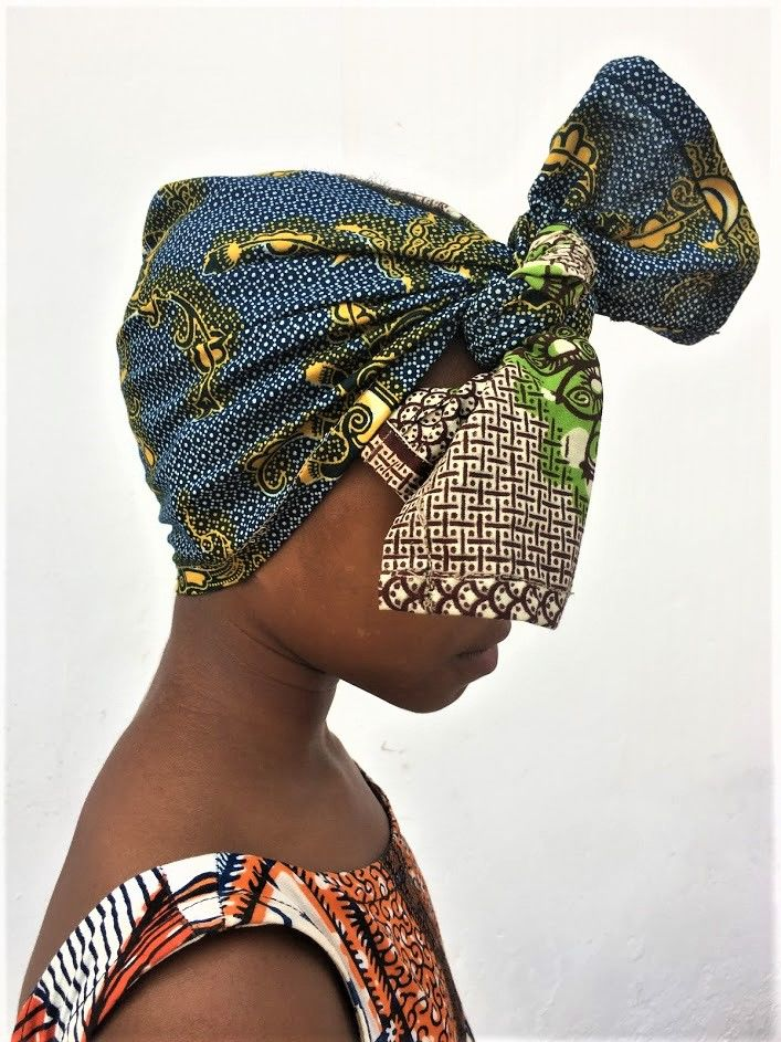 African Ankara scarf - product images  of