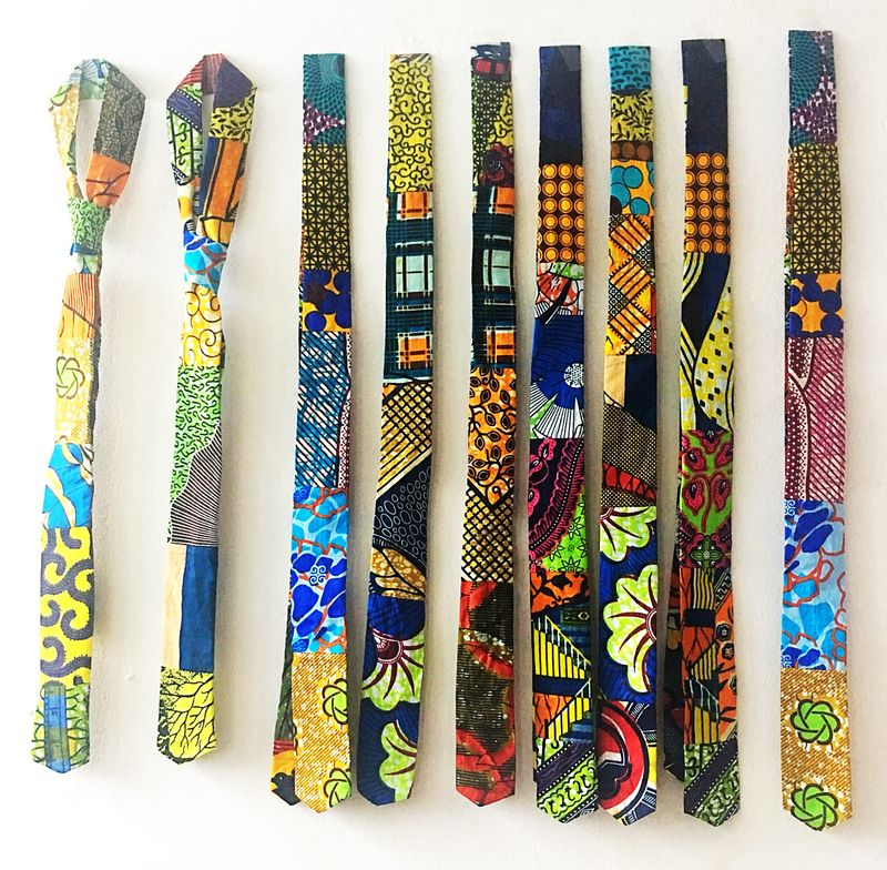 African neck tie  - product images  of