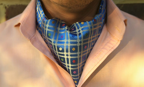 HORATIO,gold cravat, mens silk cravat, mens silk ascot, cravat, cravats, cravata, cravatta, cravatte, cravate, cravet, mens cravat, silk cravat, mens silk cravats