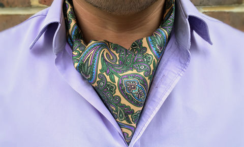 SOREN,paisley cravat, ascot tie, day cravat, cravat, silk cravat, gentlemen's cravat, gentlemen's ascots, men's cravat, wedding cravat, ascots, cravats, mens cravats, formal cravat, silk ascot tie, ascot ties, ascottie, men's ascots, silk cravats, crava
