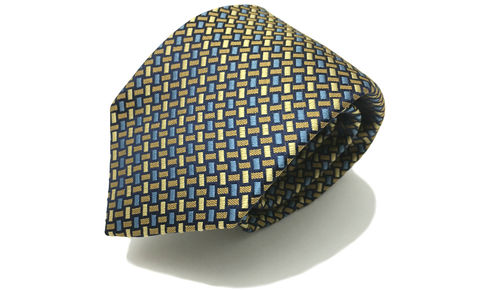 NOAH,blue yellow woven silk tie, blue yellow woven silk necktie, woven silk neckties uk, woven silk ties uk, silk ties for men, cravatta,