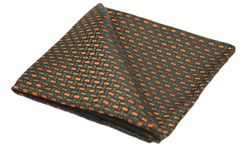 Elias,brown orange silk pocket square, brown silk pocket square, brown silk handkerchief, brown silk hanks, pocket squares for men, silk pocket squares online, silk pocket square, silk hanks online, silk handkerchiefs, buy pocket squares, pocket squares made in