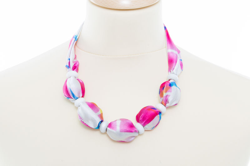 Ko Lanta Large Bead Necklace - product images  of