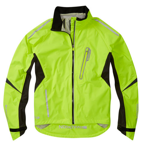 Madison,Stellar,Men's,Waterproof,Jacket,Yellow,cycling jacket, Madison Stellar jacket, hi vis cycling jacket