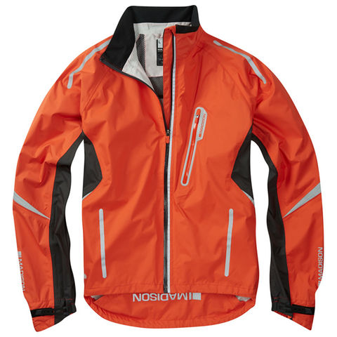 Madison,Stellar,Men's,Waterproof,Jacket,Orange,cycling jacket, Madison Stellar jacket orange