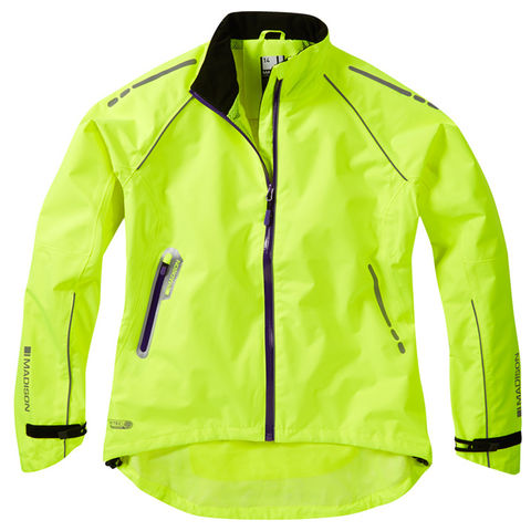 Madison,Prima,Women's,Waterproof,Jacket,Yellow,womens cycling jacket, Madison Prima Women's Waterproof Jacket Yellow, buy madison cycle jacket london