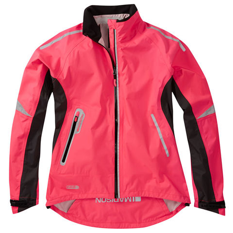 Madison,Stellar,Women's,Waterproof,Jacket,Pink,womens cycling jacket, Madison Stellar Women's Waterproof Jacket Pink, buy madison cycle jacket london