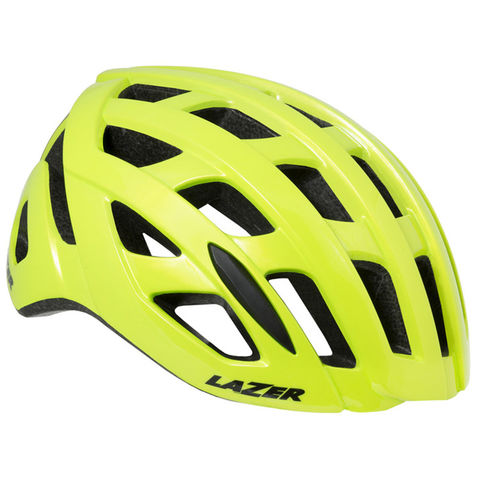 Lazer,Tonic,Helmet,Yellow,lazer O2 helmet, good road helmet, lazer helmets in london, bike shops in west london