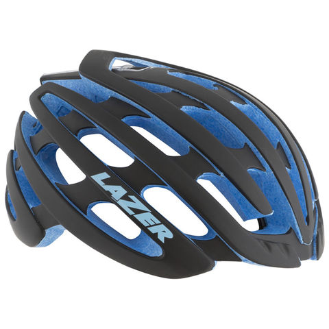 Lazer,Z1,Helmet,Matt,Black/Blue,Lazer Z1 Helmet Matt Black/Blue, good road helmet, lazer helmets in london, bike shops in west london