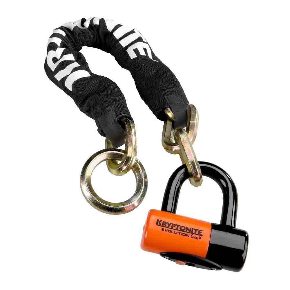 4791a4699745ad Kryptonite New York Noose with EV Series 4 Disc Lock Chain - Bike ...