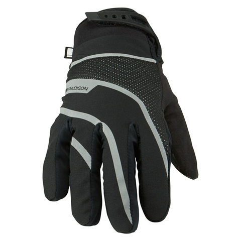 Madison,Avalanche,Men's,Waterproof,Gloves,Black,Madison Avalanche Men's Gloves Black, madison cycling gloves, sportive gloves