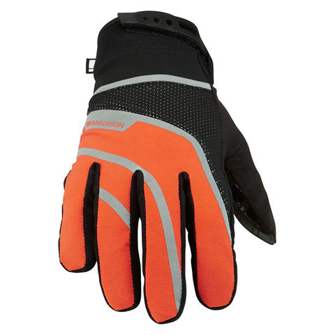 Madison,Avalanche,Men's,Waterproof,Gloves,Orange,Madison Avalanche Men's Waterproof Gloves Orange, madison cycling gloves, sportive gloves