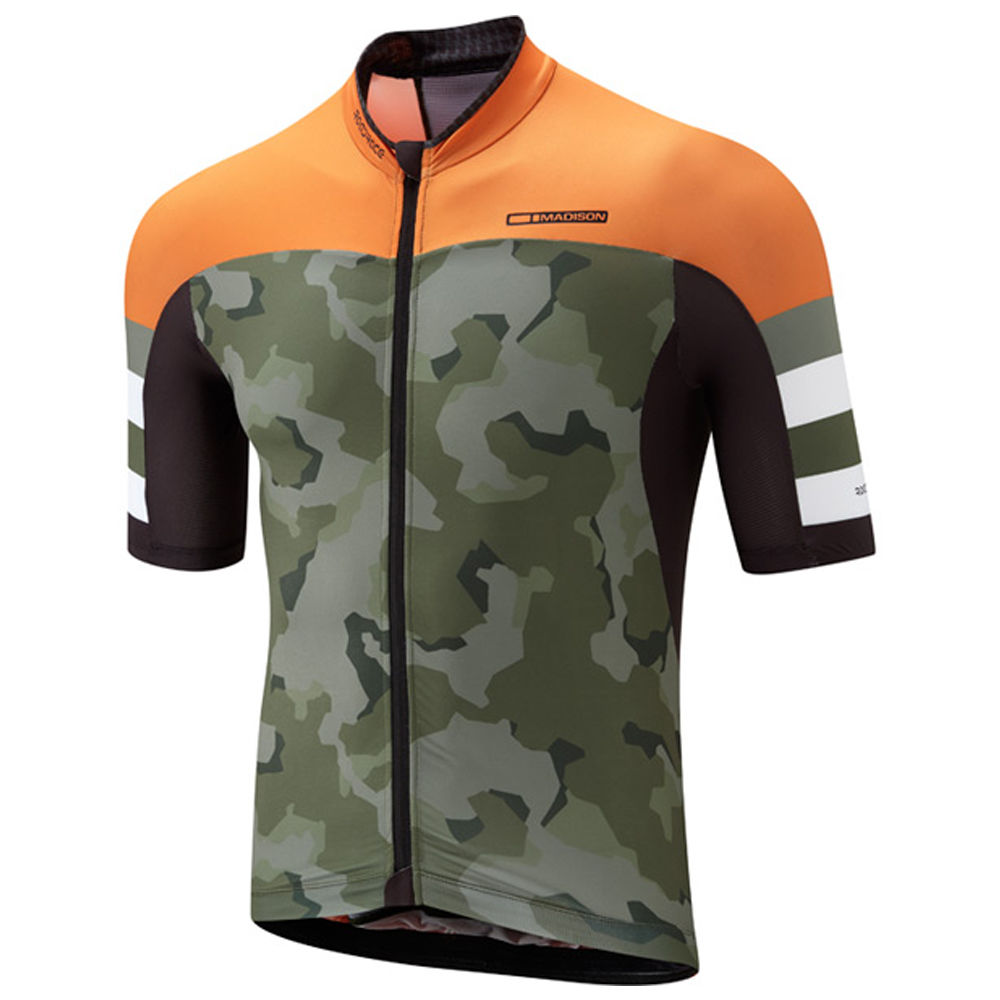 Madison Premio Men's Jersey Olive Camo - product images  of