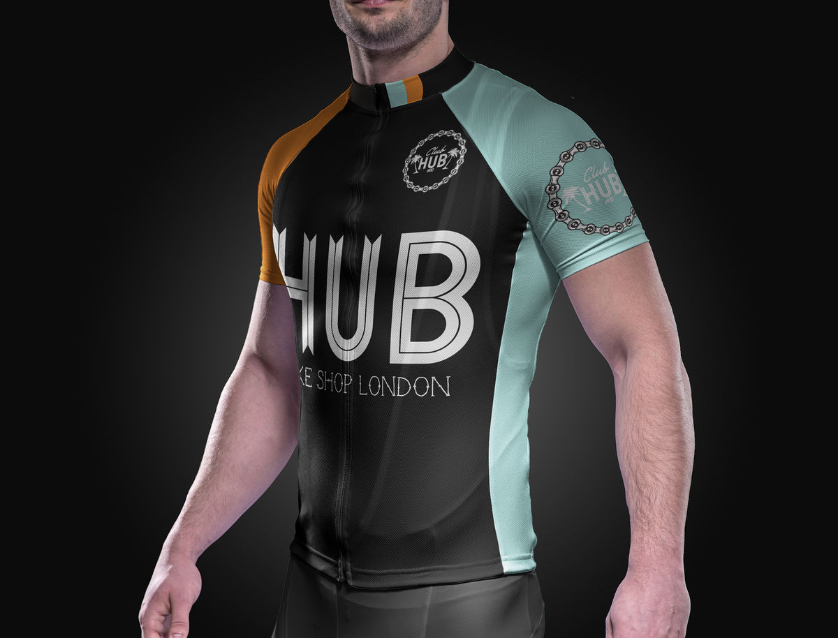 HUB x Velotec Home Jersey - product images  of