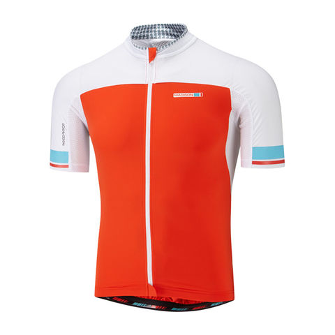 Madison,Premio,Men's,Jersey,Chilli,Red/White,Madison Premio Men's Jersey Chilli Red/White